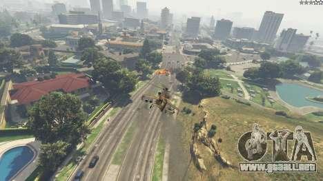Realistic rocket pod 2.0 para GTA 5