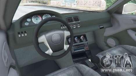GTA 5 BMW M3 GTR E46 Most Wanted vista lateral trasera derecha