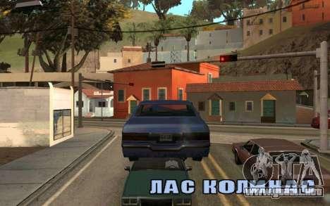 Veh Jump para GTA San Andreas tercera pantalla