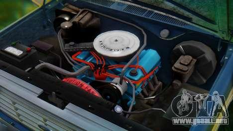 Ford F-150 1984 Final para vista inferior GTA San Andreas