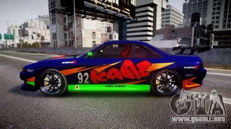 Nissan Silvia S14 para GTA 4 left