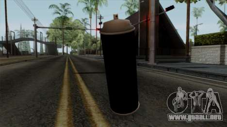 Original HD Spraycan para GTA San Andreas