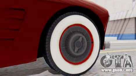 Ascot Bailey S200 from Mafia 2 para GTA San Andreas vista posterior izquierda