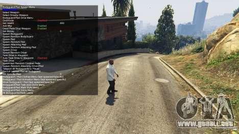 GTA 5 Simple Trainer 2.1 tercera captura de pantalla