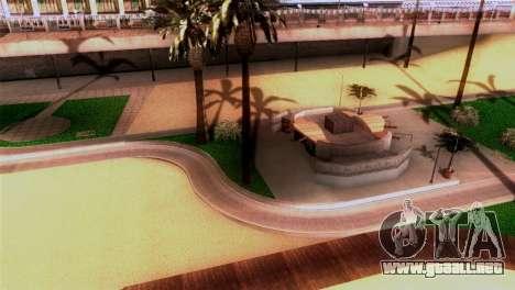 Nueva playa de Los Santos para GTA San Andreas segunda pantalla