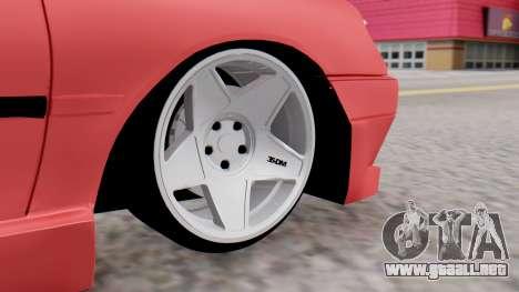 Peugeot 306 GTI para GTA San Andreas vista posterior izquierda