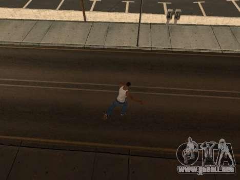 Animación de GTA Vice City para GTA San Andreas octavo de pantalla