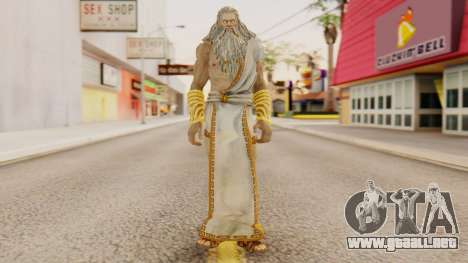 Zeus v1 God Of War 3 para GTA San Andreas segunda pantalla