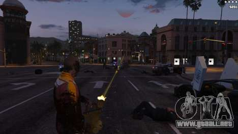 GTA 5 Mira láser séptima captura de pantalla