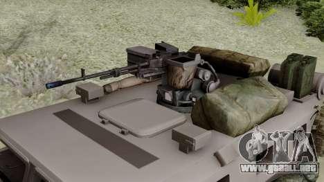SPM-3 from Battlefiled 4 para la visión correcta GTA San Andreas