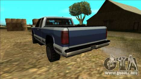 New Yosemite v2 para vista inferior GTA San Andreas