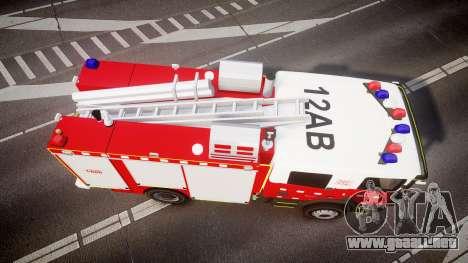 Scania 94D 260 Victorian CFA [ELS] para GTA 4 visión correcta