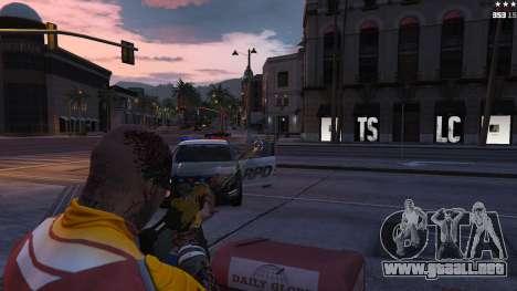 GTA 5 Mira láser cuarto captura de pantalla
