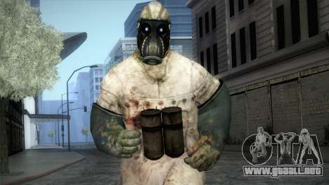 Order Soldier from Silent Hill para GTA San Andreas
