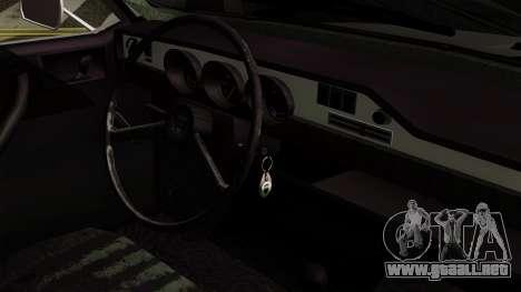 Dacia 1300 para la visión correcta GTA San Andreas