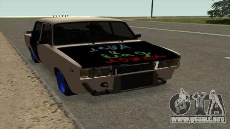 VAZ 2105 AC v2.0 para GTA San Andreas left