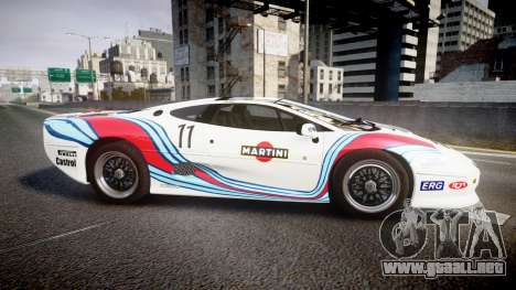 Jaguar XJ220 1992 [EPM] Martini para GTA 4 left