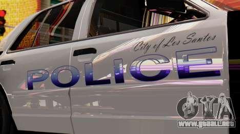 Police LS 2013 para la visión correcta GTA San Andreas