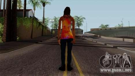 Curly Alara para GTA San Andreas tercera pantalla