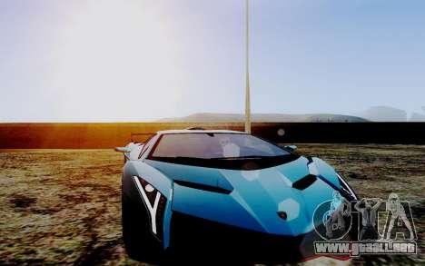ENB Series HQ Graphics v2 para GTA San Andreas sucesivamente de pantalla