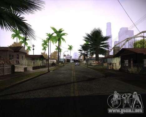 Professional Graphics Mod 1.2 para GTA San Andreas tercera pantalla