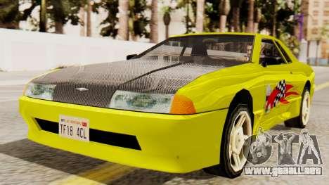 De vinilo para la Elegía - Sport para GTA San Andreas