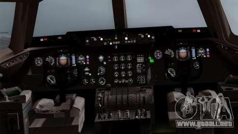 DC-10-30 Martinair para visión interna GTA San Andreas
