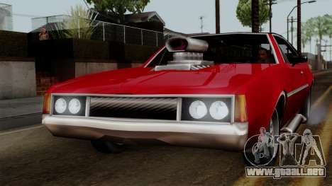Muscle-Clover Beta v2 para GTA San Andreas left