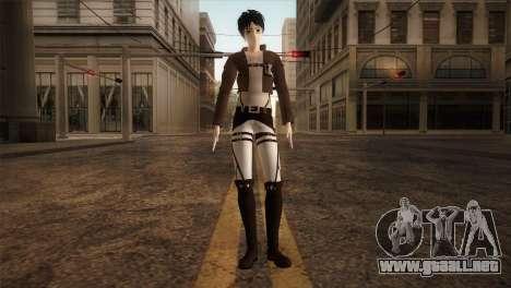 Eren Jaeger para GTA San Andreas segunda pantalla