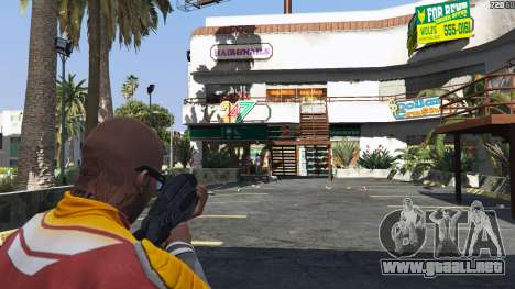 GTA 5 M-8 Avenger из de Mass Effect 2 tercera captura de pantalla