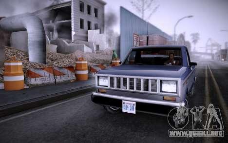 Edificio en la Calle Grove v0.1 Beta para GTA San Andreas segunda pantalla