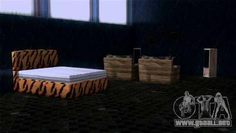 Retextured interior de la mansión de MADD Dogg para GTA San Andreas