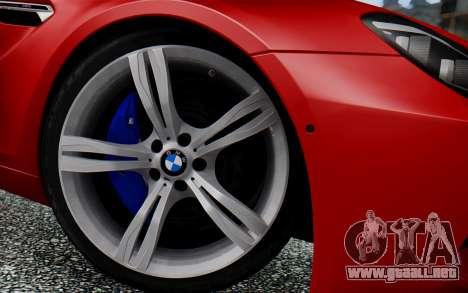 BMW M6 2013 v1.0 para la visión correcta GTA San Andreas