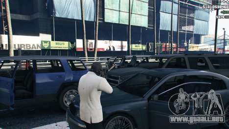 GTA 5 Strapped Peds cuarto captura de pantalla