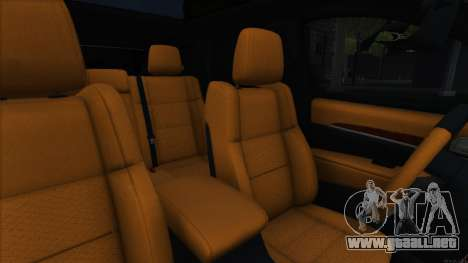 Jeep Grand Cherokee SRT8 para visión interna GTA San Andreas