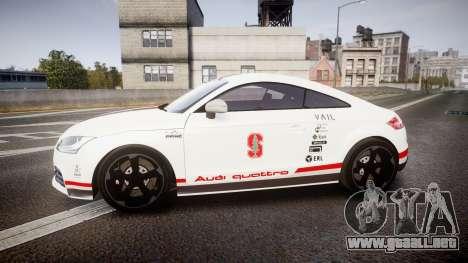 Audi TT RS 2010 Shelley para GTA 4 left