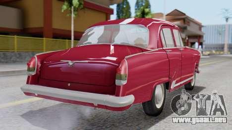 GAZ 21 Volga v3 para GTA San Andreas left