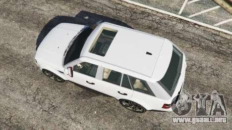 GTA 5 Range Rover Sport 2010 v0.7 [Beta] vista trasera
