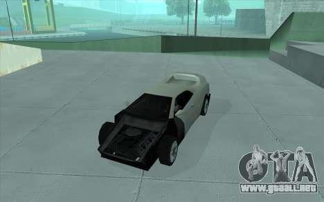 GTA 3 Infernus SA Style para GTA San Andreas vista hacia atrás