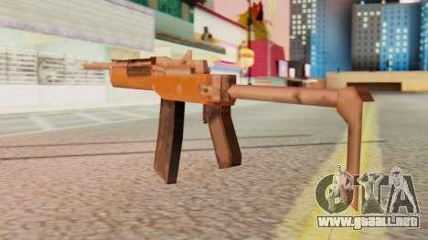 Ruger para GTA San Andreas segunda pantalla