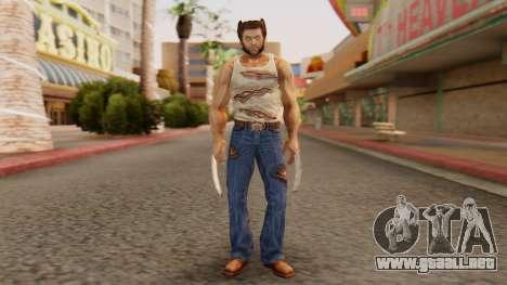 Wolverine v2 para GTA San Andreas segunda pantalla