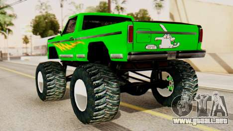 Monster New Texture para GTA San Andreas left