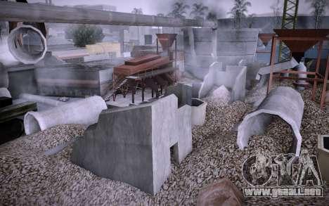 Edificio en la Calle Grove v0.1 Beta para GTA San Andreas tercera pantalla