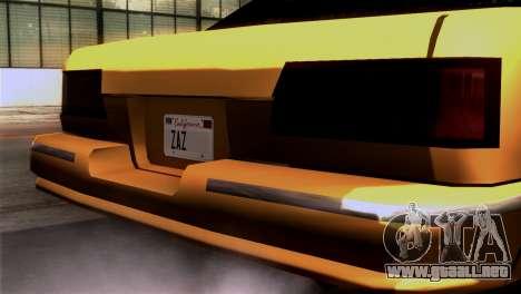 Taxi Kuruma 0.9 para la visión correcta GTA San Andreas