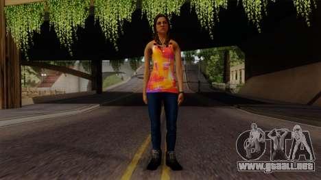 Curly Alara para GTA San Andreas segunda pantalla