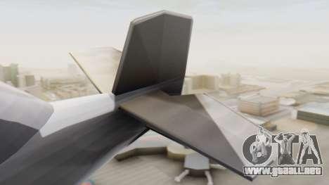 Un cropduster-Hidroavión v1.0 para GTA San Andreas vista posterior izquierda