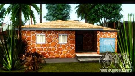 Nuevas texturas de las casas alrededor de grove  para GTA San Andreas quinta pantalla