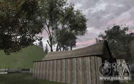 Los árboles de WarFace para GTA San Andreas segunda pantalla