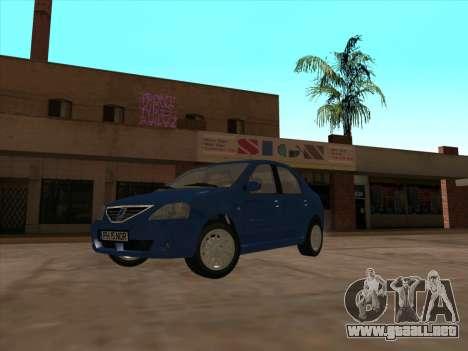 Dacia Logan Prestige para GTA San Andreas left