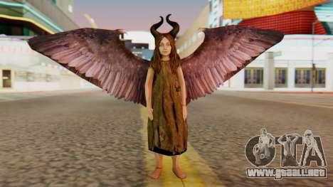 Malefica Child para GTA San Andreas segunda pantalla